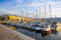 Yacht marina, Triest Royalty Free Stock Photo