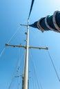 Yacht mast Royalty Free Stock Images