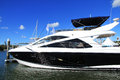 Yacht sanctuary cove international boat show queensland australia Royalty Free Stock Photos