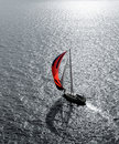 Yacht at sea Royalty Free Stock Image