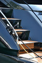 Yacht stair Royalty Free Stock Images