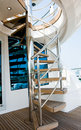Yacht stairs Stock Photography