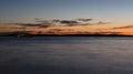 Yacht at sunset near brioni national park croatia luxury open sea Stock Photos
