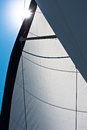 Yachting detail close up of water sport equipment Stock Image