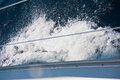 Yachting detail close up of water sport equipment Royalty Free Stock Photo