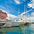 Yachts at berth Royalty Free Stock Photography