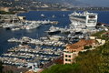 Yachts harbour in monaco kingdom Royalty Free Stock Photo