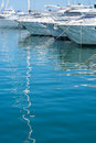 Yachts and mast reflection Royalty Free Stock Photo