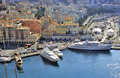 Yachts in Nice Harbour Royalty Free Stock Images