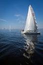 Yachts sailing regatta Royalty Free Stock Photo