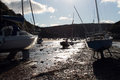 Yachts at Solva Stock Photography