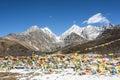 Yajiageng mountain scenery Royalty Free Stock Photo