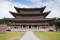 Yakchunsa Temple on Jeju Island Royalty Free Stock Photo