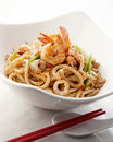 Yaki udon Royalty Free Stock Images