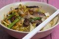 Yakisoba / Stir fry Japanese noodle Royalty Free Stock Photo
