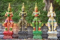Yaksa warior guards thai warrior statues Stock Photo