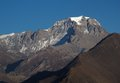 Yakwakang high mountain named lower mustang region nepal Stock Images