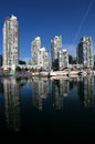 Yaletown Marina Royalty Free Stock Photography