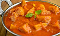 Yam curry indian dish made up of and tomatoes Royalty Free Stock Image