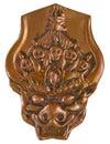 Yamantaka copper mask Royalty Free Stock Photo