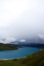 Yamdrok lake one of four holly in tibetan buddhism culture Stock Photography