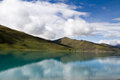 Yamdrok lake one of four holly in tibetan buddhism culture Stock Photo