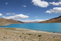 Yamdrok Lake, Tibet Royalty Free Stock Photo