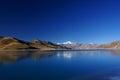 Yamdrok Yumts lake in tibet Royalty Free Stock Photo