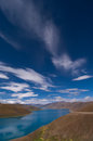 The yang lake(Yamzhog Yumco) Royalty Free Stock Photography