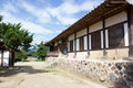 Yangdong folk village a traditional korean Royalty Free Stock Photo
