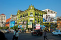 Yangon city center Royalty Free Stock Images