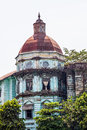 Yangon rangoon building from british imperial time old british tax office for burma Royalty Free Stock Photography