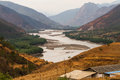 Yangtze river first bend of Royalty Free Stock Photo
