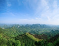 Yaoshan hill park in guilin Stock Image