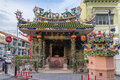 Yap kongsi temple in penang malaysia aug at the corner of popular tourist destination armenian street Royalty Free Stock Photography