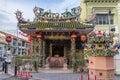 Yap kongsi temple in penang malaysia aug at the corner of popular tourist destination armenian street Royalty Free Stock Photography