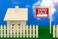 Yard Sale Banner Royalty Free Stock Photography