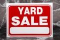 Yard Sale Royalty Free Stock Photo