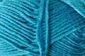 Yarn background blue as a Royalty Free Stock Images