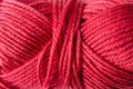 Yarn background red as a Royalty Free Stock Photo