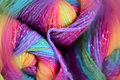Yarn with a blur effect Royalty Free Stock Photos
