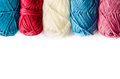 Yarn isolated white background Royalty Free Stock Photography