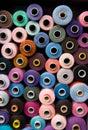 Yarn Thread spools Stock Photo