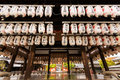 Yasaka shrine kyoto april paper lantern hang up at stage of on april in kyoto japan gion is the one of the Royalty Free Stock Images