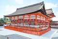 Yasaka shrine in kyoto japan Royalty Free Stock Photo