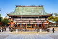 Yasaka shrine in Kyoto, Japan Royalty Free Stock Photos
