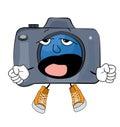 Yawning Camera cartoon