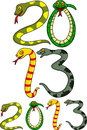 Year of snake Royalty Free Stock Photography