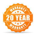 20 year warranty icon