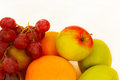 Year yield of ripe fruits isolated Royalty Free Stock Image